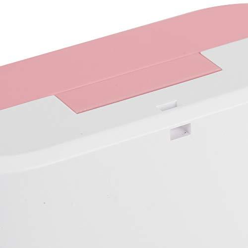 Impresora fotográfica portátil Mini impresora portátil de plástico ABS, para aprender caracteres chinos, para aprender caracteres chinos de entrada(rosado)