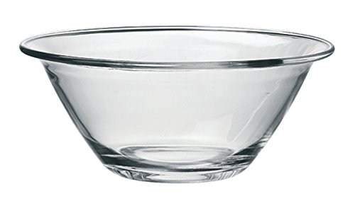 Bormioli 58172 0418436 Saladier empilable en Verre Mr CHEF-30 cm, Transparent, D 30CM