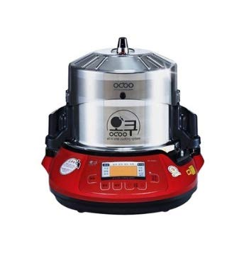 OCOO Oc-2300NR Slow Cooker Herb Extractor All-in-one Cardron Double Boiler Warm up Water Bath Ginseng Cooking Machine 220V