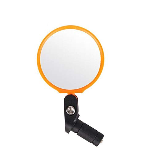SMNGSRXH Fiets Stuur Einde Spiegel Staal Lens Fietsen Terug Review Spiegel voor Mountain Road Riding Spiegel Fiets Accessoires Accessoires