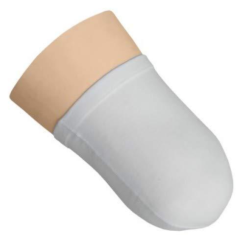 Ihle Oberschenkelstumpfstrumpf Frottee | Hergestellt aus zertifizierten Materialien | Handgekettelt, Hohe Saugkraft, Leichtes Anziehen möglich (35 cm)