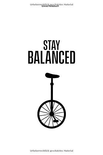 Einrad Notizbuch: 100 Seiten | Karierter Inhalt | Einräder Liebhaber Geschenk Einradfahrerin Hobby Fahrer Unicycle Fahren