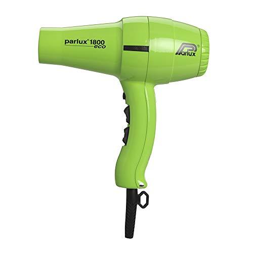 Parlux 1800 Eco Edition - Secador para el cabello, color verde
