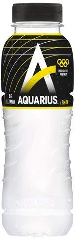 24 x Aquarius Lemon PET-Flaschen (24 x 0,33 L) EINWEG inkl. gratis FiveStar Kugelschreiber