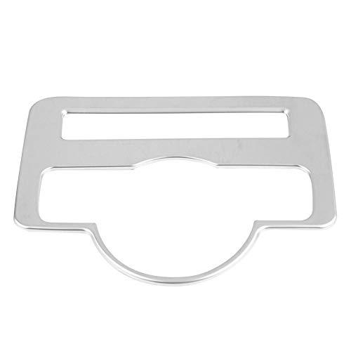 Suuonee Koplamp, schakelaar, knoopcover, ABS, zilver, koplamp, schakelaar, knoopafdekking, trim fit voor Vito W447 2014-2017