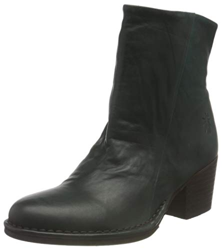 FLY LONDON LUPE233FLY, Botas Cortas al Tobillo Mujer, Green Forest, 36 EU