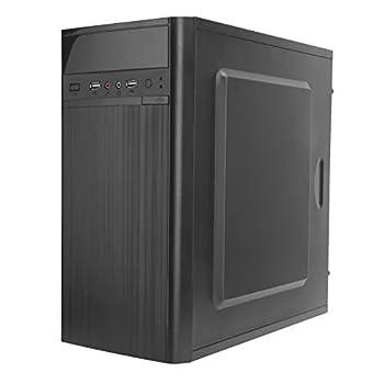 DIY Computer PC Case 2 x USB2.0 Desktop Gaming PC Case for Micro‑ATX/Mini‑ITX