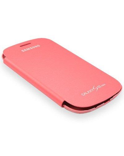 Samsung Flip Cover EFC-1M7FP für Galaxy S3 Mini i8190 rosa - Blister