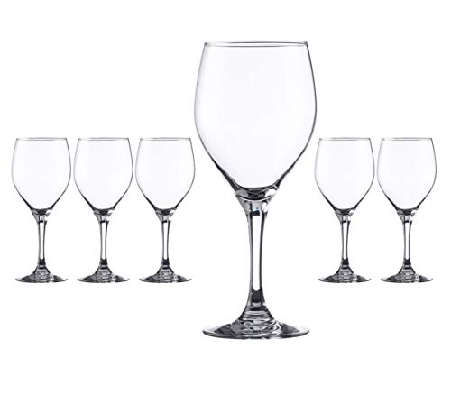 Hostelvia - Copas de Vino Vintage 420 ml - Pack de 6...