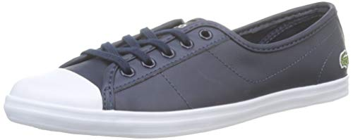 Lacoste Ziane BL 1 CFA, Zapatillas Mujer, Bleu (Navy), 39 EU