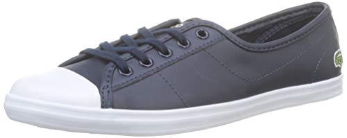 Lacoste Womens Ziane BL 1 CFA Sneaker, Blau (Navy), 41 EU