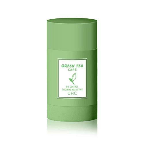 Pppby Mascarilla Té Verde Mascarilla Limpieza Profunda Máscara Primeros Auxilios Mascarilla Arcilla Purificadora Hidratación Facial Oil Control Limpieza Profunda Los Poros para Mujeres Hombres