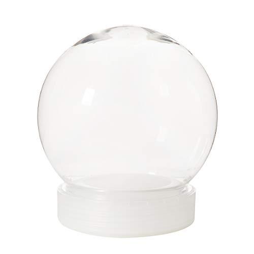 Darice Wasserkugel-Set, Kunststoff, 130 mm, transparent