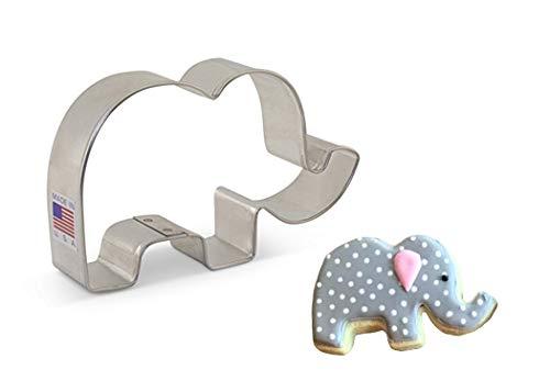 "Ann Clark Cookie Cutters Cute Elephant Cookie Cutter, 4.25"""