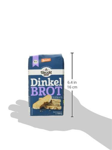 Bauckhof Dinkelbrot Vollkorn Demeter, 6er Pack (6 x 500 g) - 5