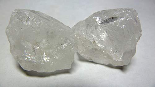 Ruwe bergkristal, 47 g, onbehandeld in ruwe toestand. Uit Brazilië.