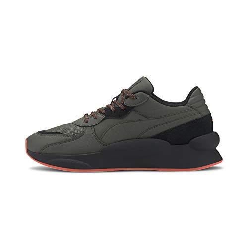 Puma RS 9.8 Trail, Zapatillas de Running Unisex Adulto, Verde, 43 EU