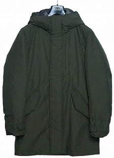 [ウールリッチ] フード ミディアム丈 ダウンジャケット Mサイズ (カーキ) メンズ w402-0010-7937-a4 [並行輸入品]