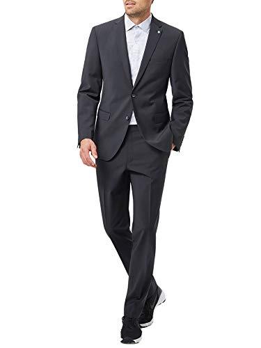 Pierre Cardin Herren Futureflex-Stretch Anzug Black 52