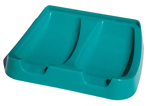 Tupperware Gadget Double Spoon Rest in Turquoise