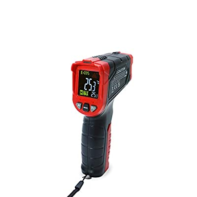 Matrix Laser Infrared Thermometer Instant-Read -50°C~680°C(58°F~1256°F) MTM-302 with Adjustable Emissivity 0.5sec responce LED Display