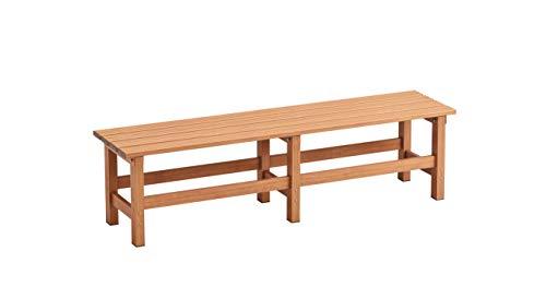 天馬 アルミ縁台 木目調 ブラウン 幅150×奥行36×高さ40cm 縁台150