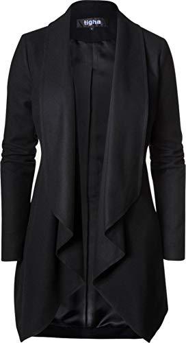 Tigha Damen Mantel Athena schwarz L