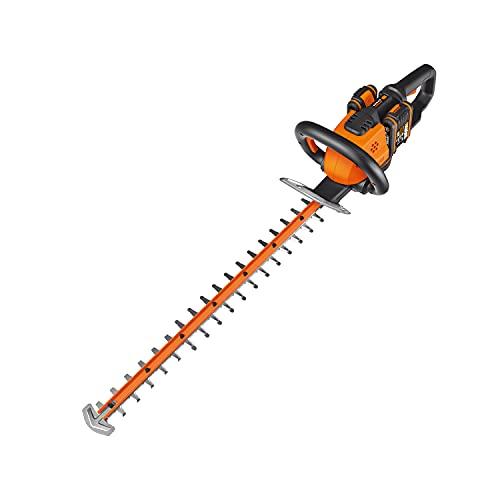 WORX - Taille-haies sans fil 40V (2X20V) - WG284E - ⌀27 cm (Livré avec batterie et chargeur, Lame de 60 cm avec protection de lame)