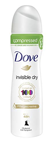 Dove Anti-Transpirant Spray Compressed Invisible Dry, Deospray, 6er Pack (6 x 75 ml)