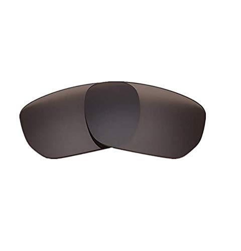 XDXART Polarisierte Ersatzgläser für Oakley OO9194 Style Switch (Black)