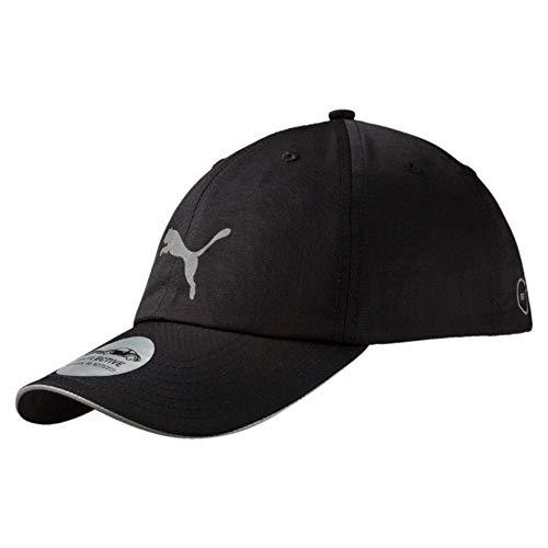 PUMA Unisex Running Cap III Kappe, Black, One Size