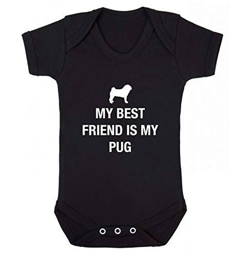 Flox Creative Gilet pour bébé Best Friend Carlin - Noir - XS