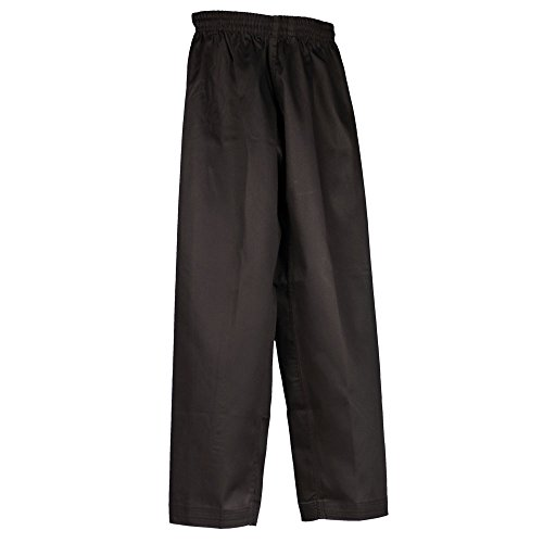 Tiger Claw Martial Arts Pants Black Poly/Cotton #5