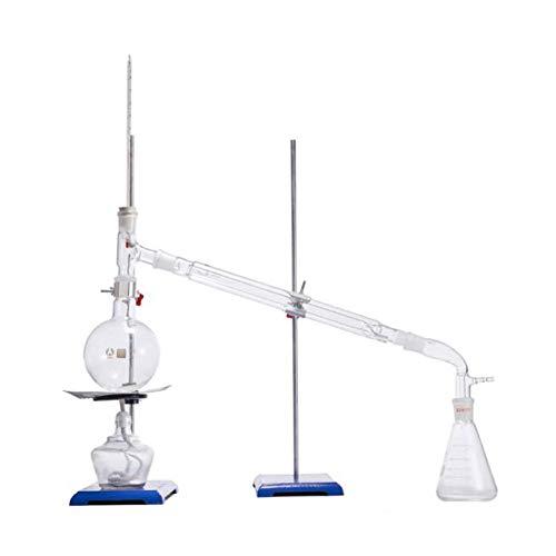 BIUYYY Neue 250ml Labor Ätherisches Öl Destillationsgerät Wasserfilter Glaswaren Kits