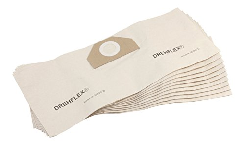 DREHFLEX - 10x Staubsaugerbeutel SB722 - Material Papier - passend für diverse Staubsauger/Sauger/Kesselsauger/Mehrzwecksauger von Kärcher - passend für 6.959-130