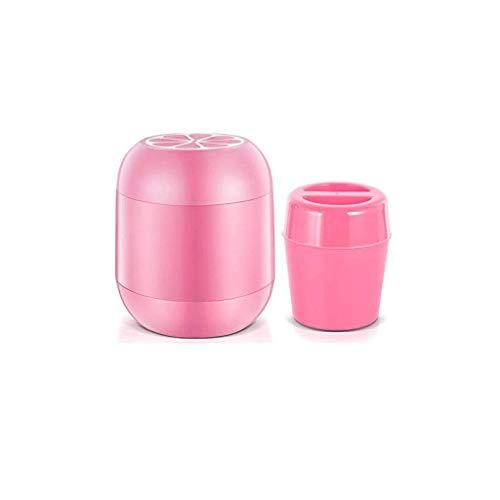 1yess Deluxe Helado congelado Doble Pared Congelador Tazón Recetas (Color: Amarillo) (Color : Pink)