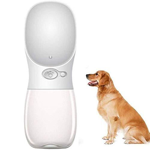 HAITOY Taza de Viaje para Mascotas al Aire Libre Botellas de Agua para Perros Botella de Agua para Perros de Viaje Dispensador de Agua para Viajes al Aire Libre para Mascotas Acces