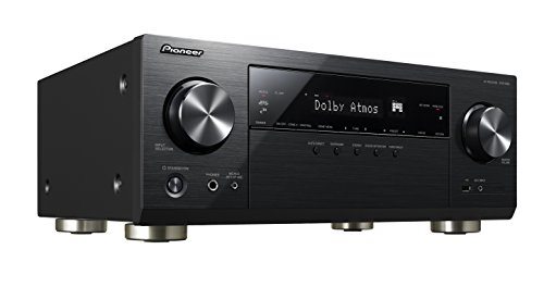 Pioneer VSX-933(B) 7.2 Channel AV Receiver (Hifi Amplifier 135 Watt/Channel, Multiroom, Wifi,...