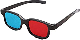 Universal Anaglyph 3D TV Glass, Red and Blue Lens