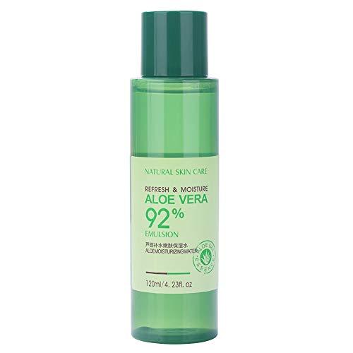 Aloe Vera Gel Sleeping Crema para el cuidado de la piel sin lavado con aloe, ácido hialurónico para hidratar, humectar, delicado y suavizar (120 ml)