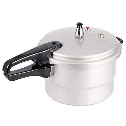 Olla a presión, con cesta de vapor, acero inoxidable, 8 tipos de protección de seguridad, herramienta de cocina, multifuncional, para cocinar al vapor, guisar, estofar y hervir(22cm)