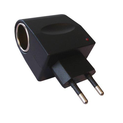 H21 6W KFZ Auto Spannung Wandler Netzteil Steckdose Ladegerät AC DC 230V / 12V, Geeignet für alle Geräte, die 12V / bis 500mA Ladestrom