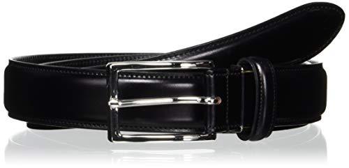 [ミカド] ベルト メンズ コードバン 水染め 日本製 MKB8250119 ブラック 日本 ウェスト95cmまで対応 (FREE サイズ)