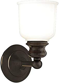 Hudson Valley Lighting 2301-OB One Light Bath Bracket from The Riverton Collection, 1, Old Bronze