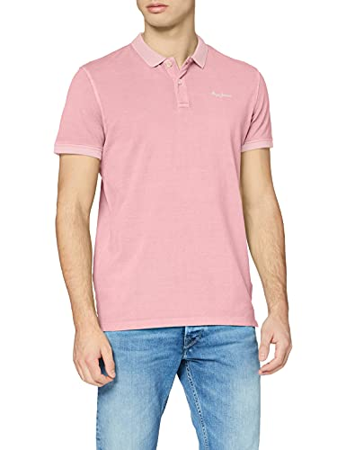Pepe Jeans Vincent GD Camisa Polo, 325pink, XL para Hombre