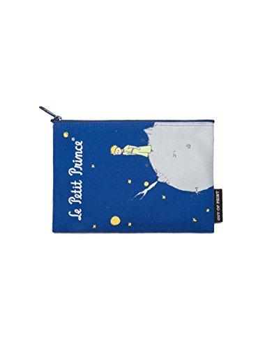 Bolsa com zíper com tema literário e livro para amantes de livros, leitores e bibliófilos, The Little Prince, One Size
