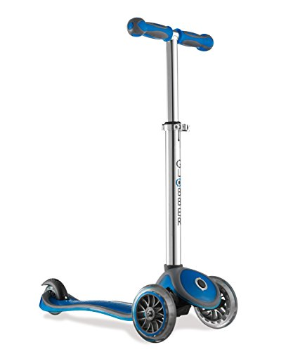 Globber My Free Up -Wheels Scooter BI-Inject- Patinete, color Azul, talla Única