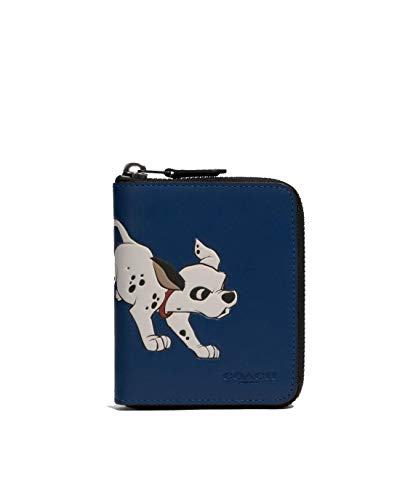 Coach NY x Disney 101 Dalmations - Portafoglio medio con zip intorno, #91652