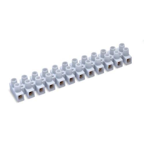 FAMATEL 206–Morsetto di collegamento, 6mm, 41A, colore: bianco