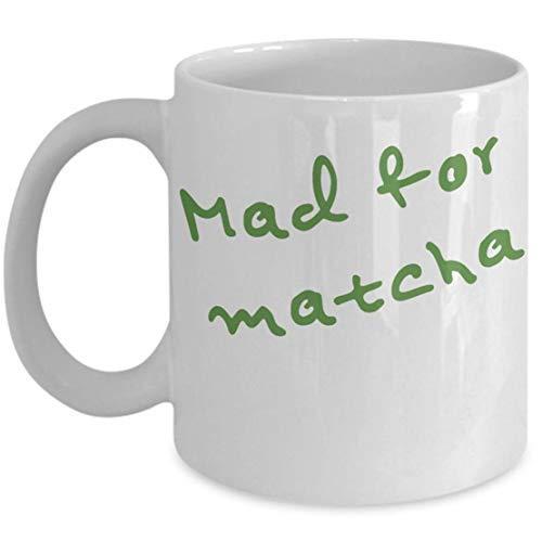 LECE Grappig van de beste Gift Mad voor Matcha mok voor de fan van Matcha groene thee